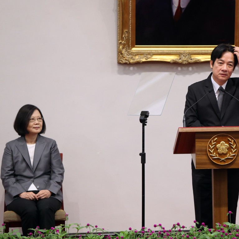 d73cd317a96 The US should rein in Taiwan's latest presidential hopeful to prevent a  cross-strait crisis