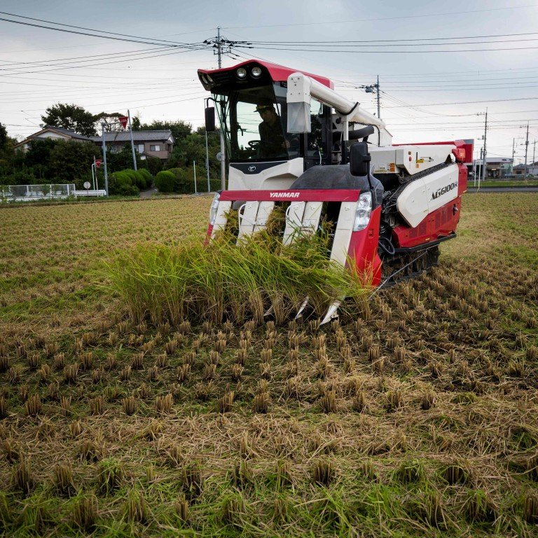 Japan turns to drones to replace its ageing farmers | South China ...