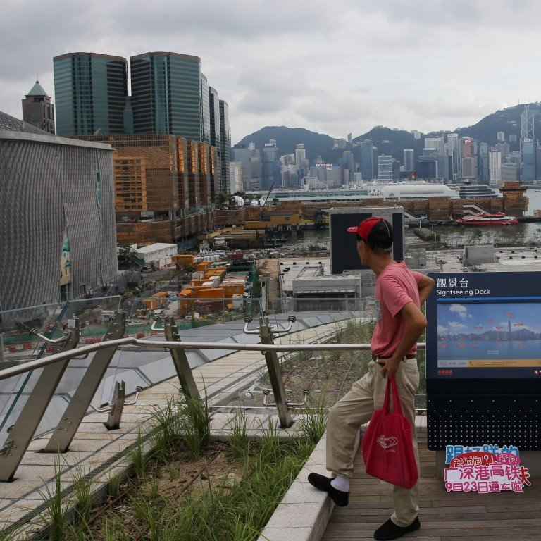 Hong Kong development chief admits he knew nothing about