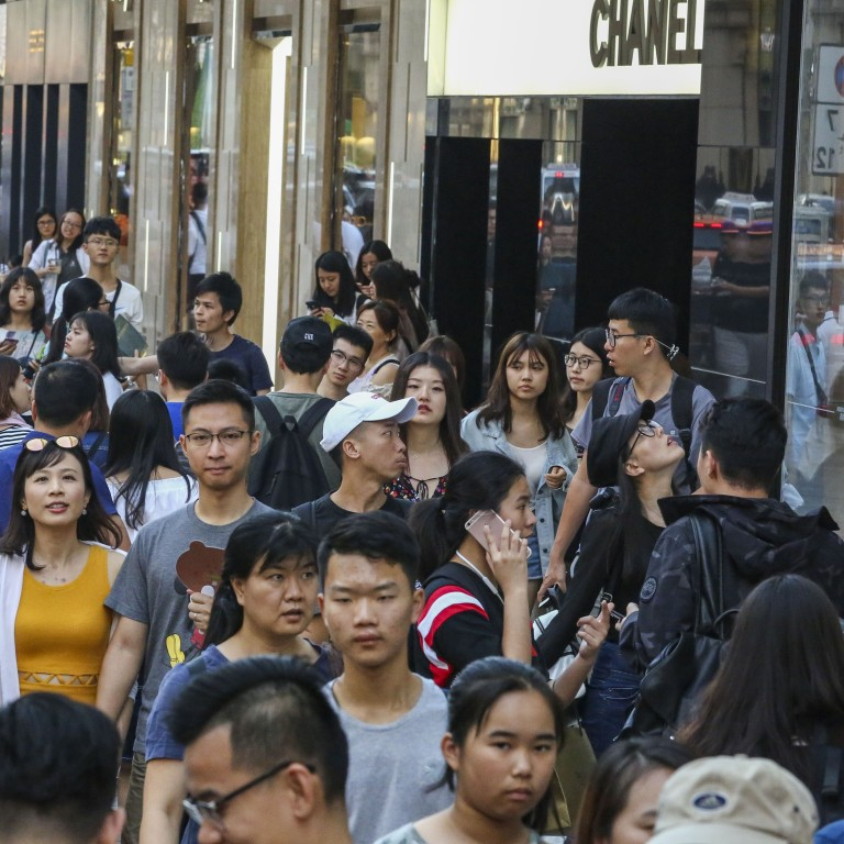 Hong Kong's retail sales dropped by 10 1 per cent in