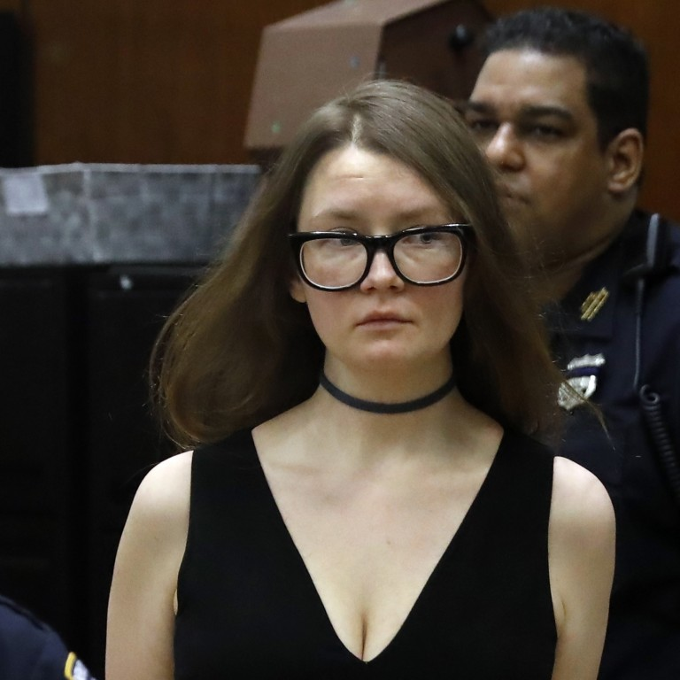 160dc0e6590 Anna Sorokin arrives at New York State Supreme Court where she is on trial  for grand