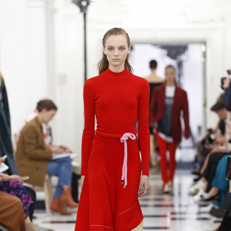 372d0dfe4 The spring/summer 2019 Victoria, Victoria Beckham collection at London  Fashion Week