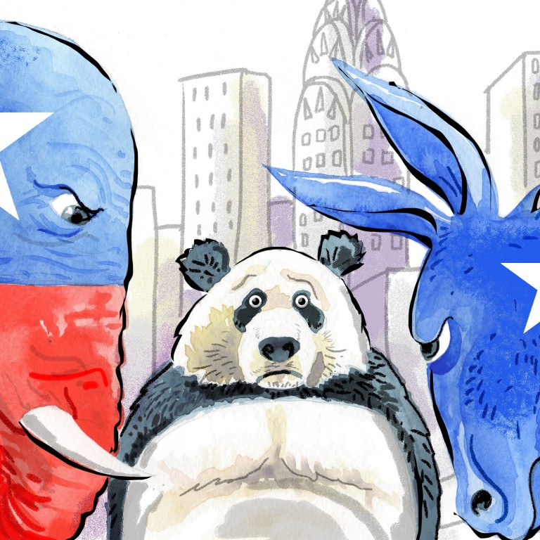 In China A Divided America Finds A Foe To Unite Against South