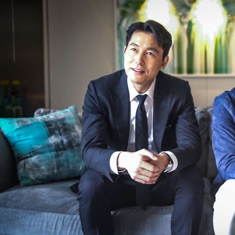 K-drama heartthrobs Jung Woo-sung and Lee Jung-jae ooze charm on