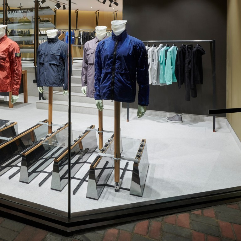 cd357aca The newly opened Stone Island store in Ice House Street, Hong Kong. The  brand