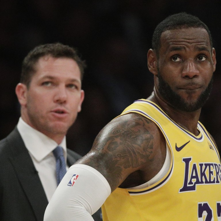 2fdd1ae5c246 Luke Walton was recently released from his role as coach of the Los Angeles  Lakers.
