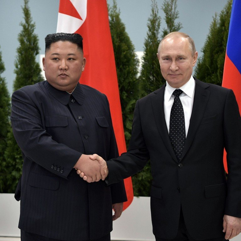 Russia S Vladimir Putin Calls For International Guarantees In First Summit With North Korea S Kim Jong Un South China Morning Post