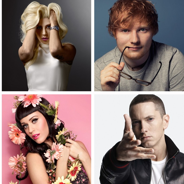 The US' 25 bestselling singles of all time  From Eminem to Lady Gaga