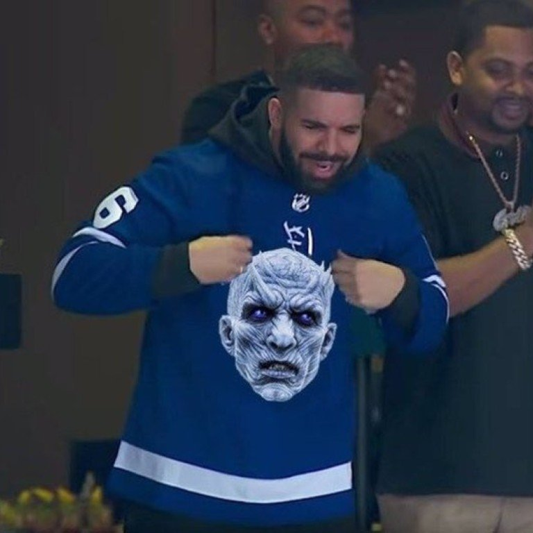 05099bd18 Toronto rapper Drake is said to have cursed the Night King in HBO show Game  of