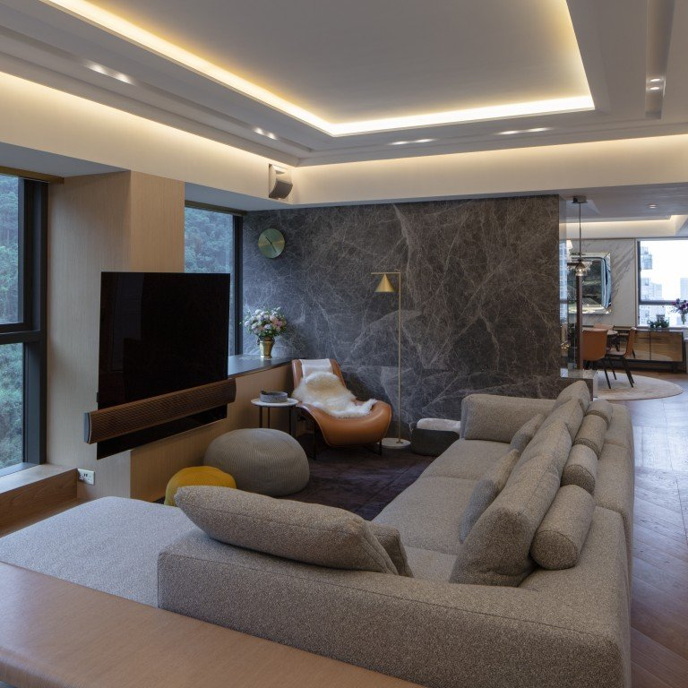 Kitchen Design Hong Kong: A Hong Kong Lawyer Transforms Two Flats Into Luxury Duplex