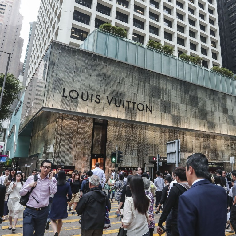 ddb0aa2fd645 The Louis Vuitton store at the Landmark in Central. Photo  Jonathan Wong
