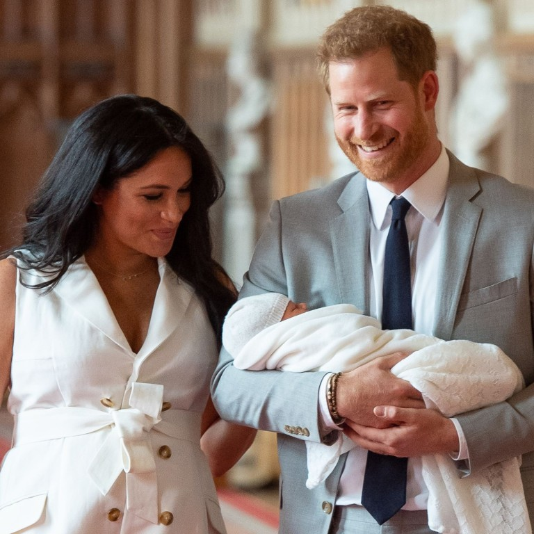 britain s prince harry and meghan the duchess of sussex name baby son archie harrison mountbatten windsor south china morning post britain s prince harry and meghan the