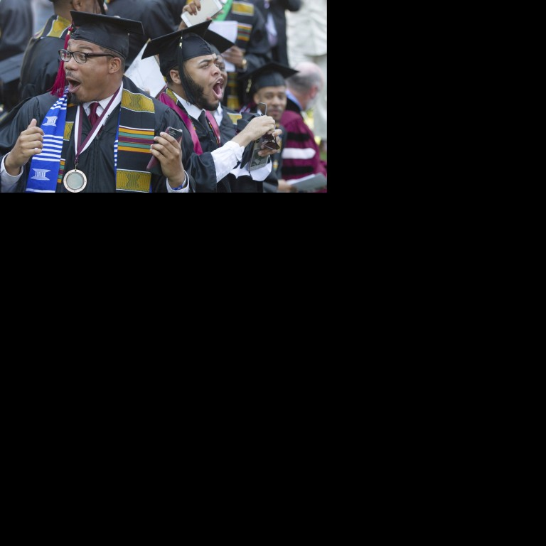US billionaire Robert Smith shocks 400 graduates at