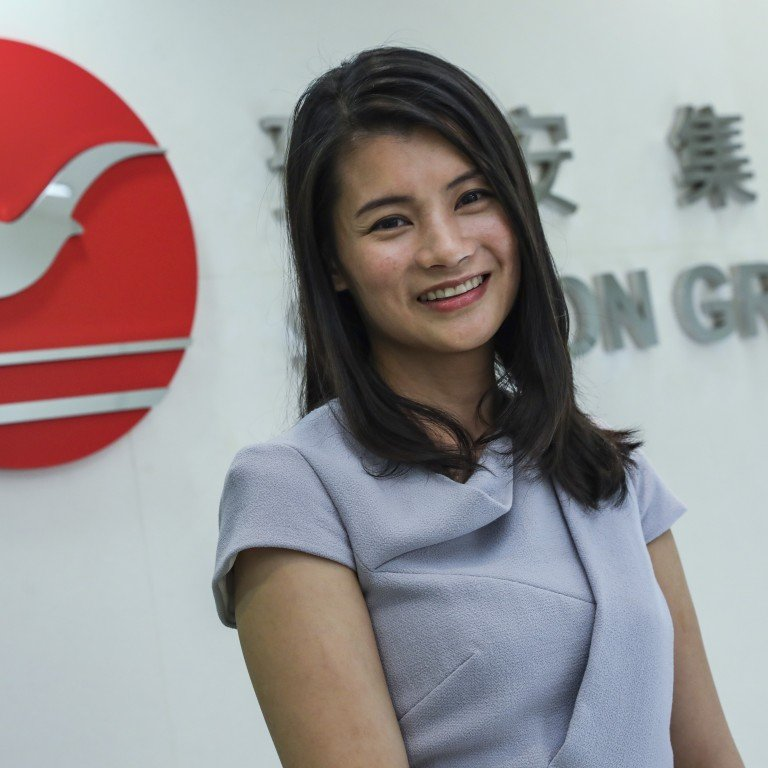 Shui On chairman Vincent Lo's daughter and successor