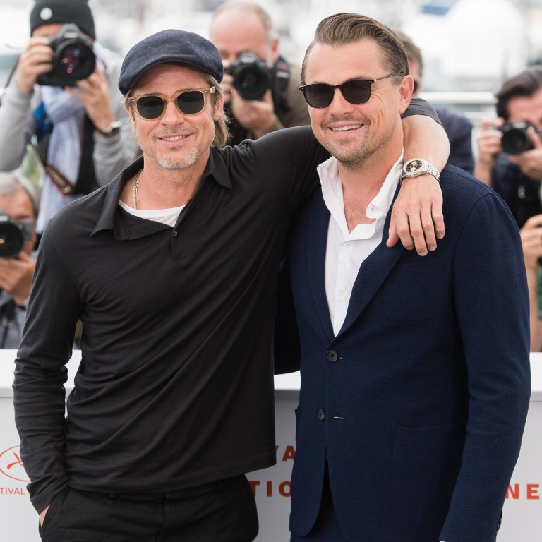 80dfed64 Brad Pitt and Leonardo DiCaprio attend a photocall for Once Upon A Time In  Hollywood with