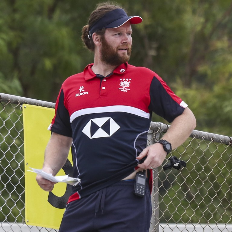 Andrew Hall Named New Head Coach For Hong Kong's 15-a-side