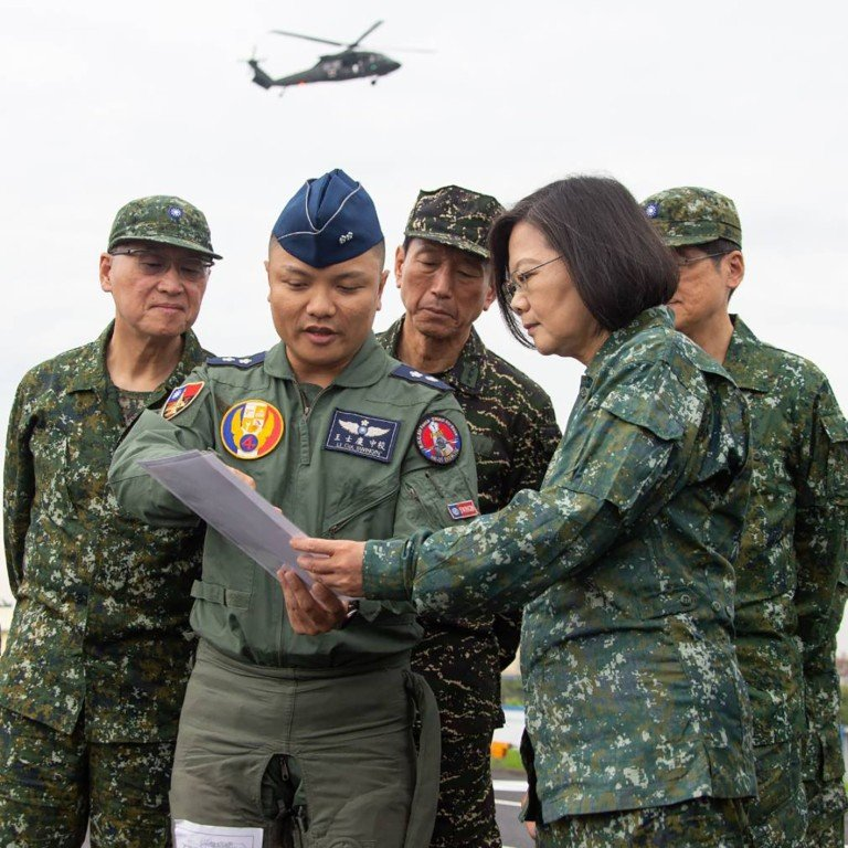 Taiwan lands warplanes on highway as part of military exercise ...