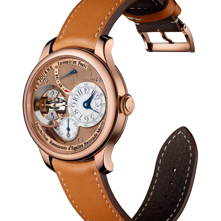 b47c56e10 Sporty watches add to the excitement of golfing season. The FP Journe  Tourbillon Souverain Vertical.