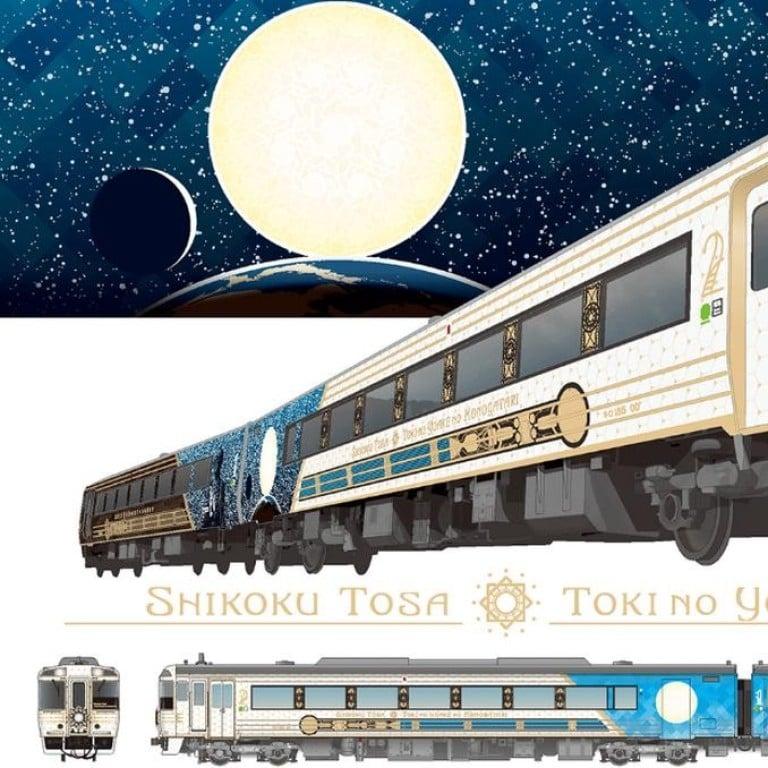 a07a85ddf Japan's latest luxury train, Toki no Yoake Monogatari, will run between  Kochi Station and