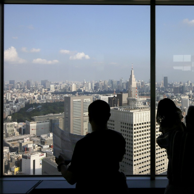 Tokyo home prices rose by an average of 7 to 10 per cent last year, according to Japan's Ministry of Land, Infrastructure and Transport. Photo: EPA