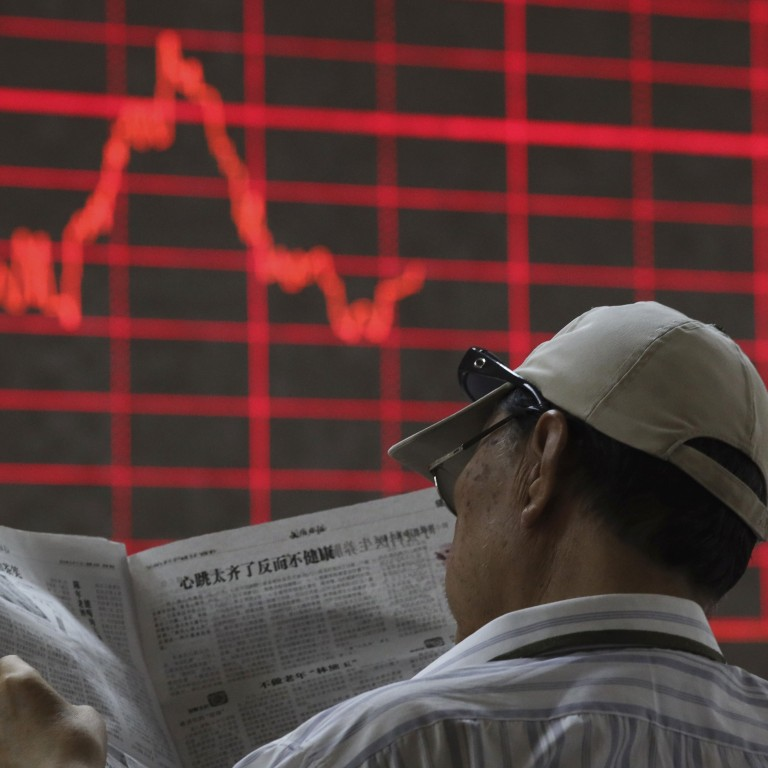 Chinese stocks cap worst performance this week on growth