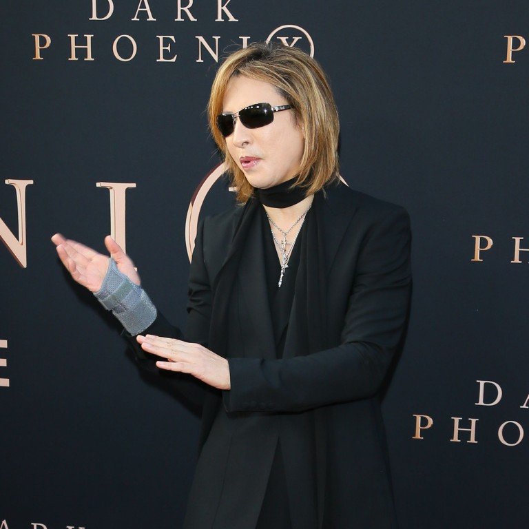Japan X drummer Yoshiki apologises for posting picture with Jackie