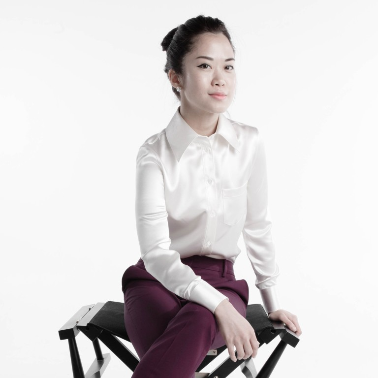 06e59a6794 JSMP founder Jasmin Pang modelling one of her tailor-made shirts.