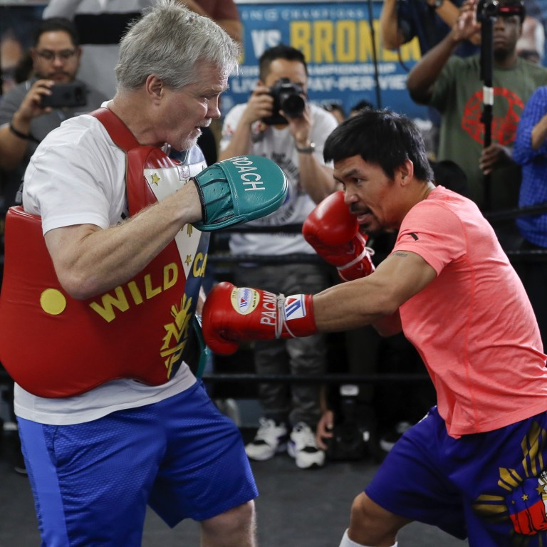 Manny Pacquiao will make me a huge score when he beats Keith