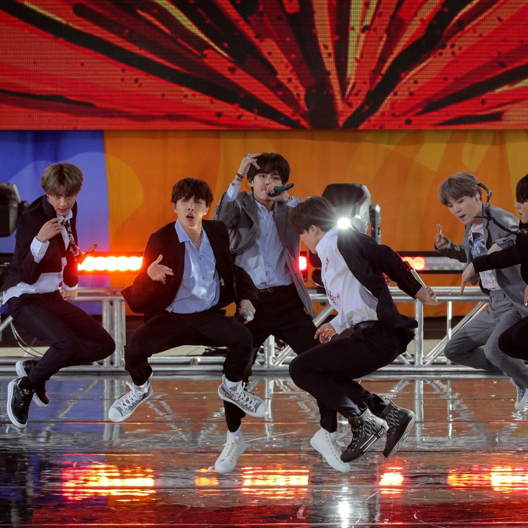 K-pop boy band BTS' 'Save Me' becomes its seventh video to