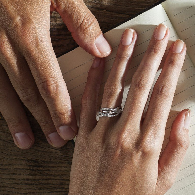 ef5349937 Both bride and groom's thoughts on the engagement ring and wedding bands  should be taken into