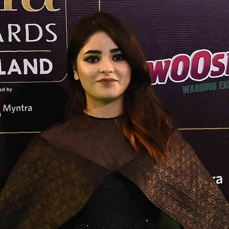 High Flying Bollywood Star Zaira Wasim Quits Acting Because It Damaged Her Relationship With God South China Morning Post