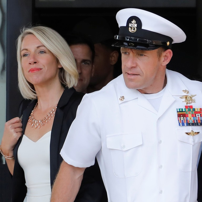 Us Navy Seal Edward Gallagher Spared Jail But Demoted For