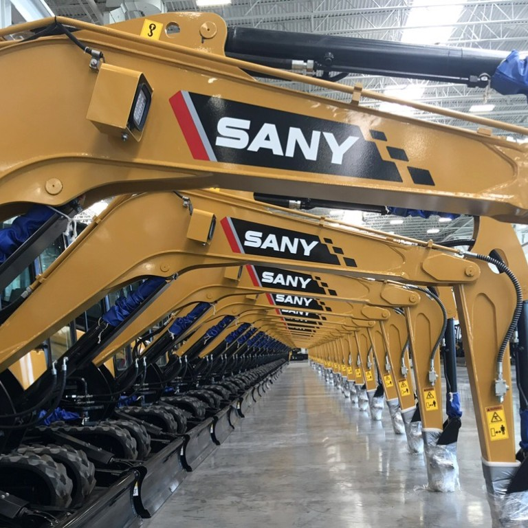 Chinese excavator giant Sany digs in for long haul