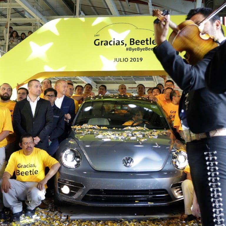 Last ever Volkswagen Beetle rolls off Mexican production