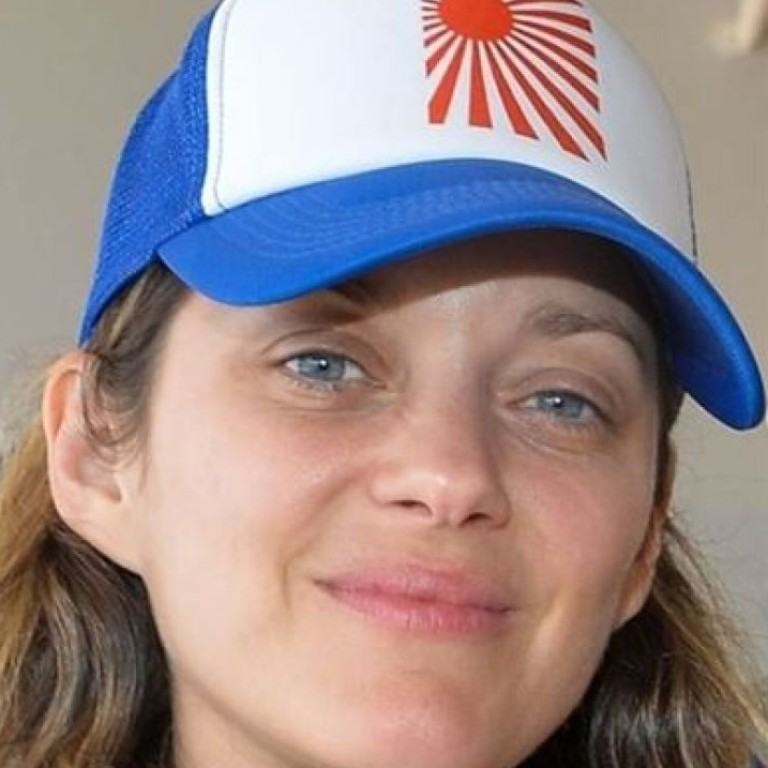 124f5028f6969c French actress Marion Cotillard says she is throwing her Rising Sun hat –  showing the emblem