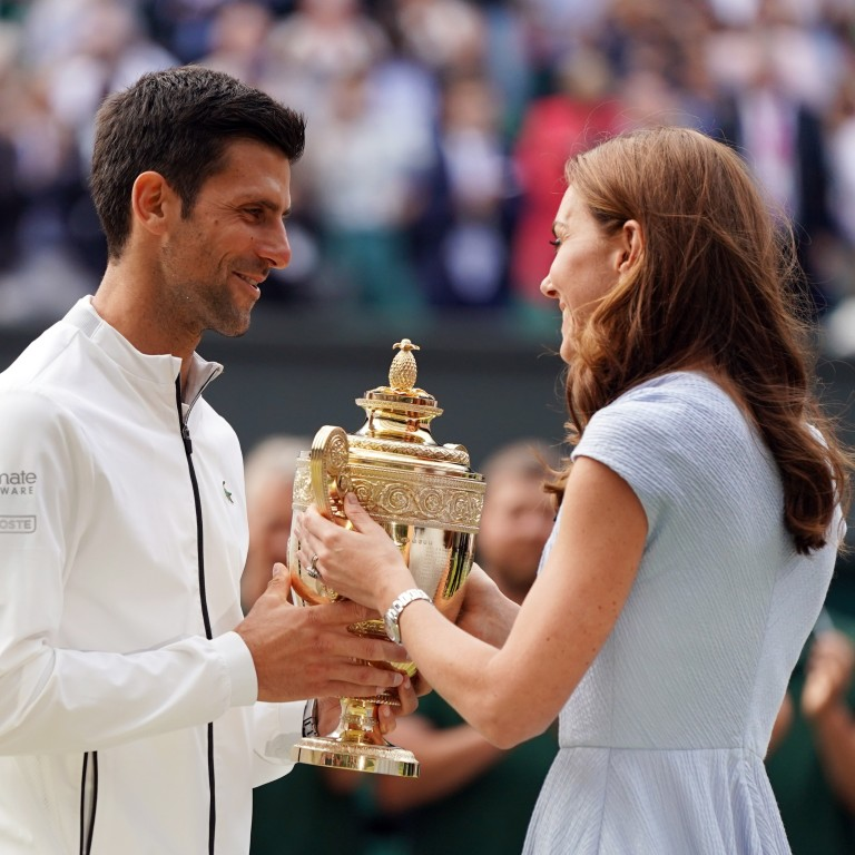 Wimbledon 2019 Novak Djokovic Defends Men S Title After Outlasting Roger Federer In Marathon Five Hour Final South China Morning Post