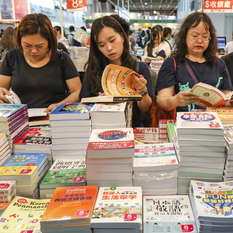 Hong Kong's annual book fair blasts off with science fiction theme