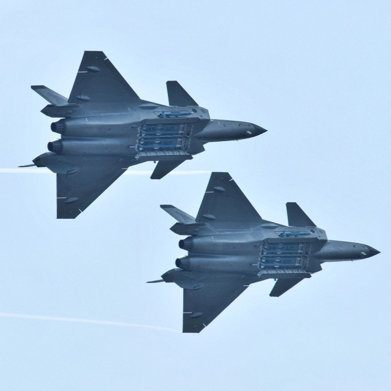 Engineers are working on a shorter version of the J-20 stealth jet to make it suitable for use on China's new aircraft carriers, military insiders say. Photo: Reuters