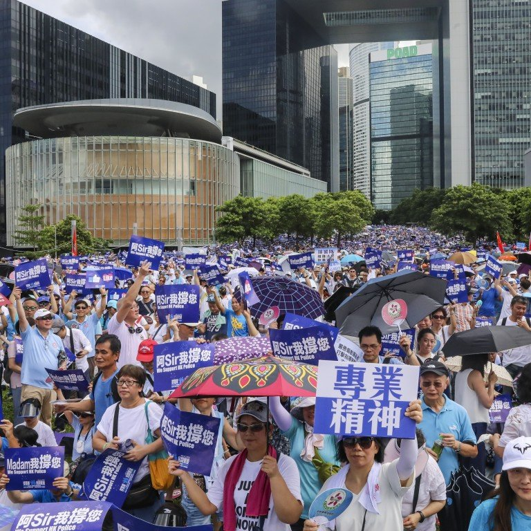 Organisers planning another mass rally in Hong Kong warn police not
