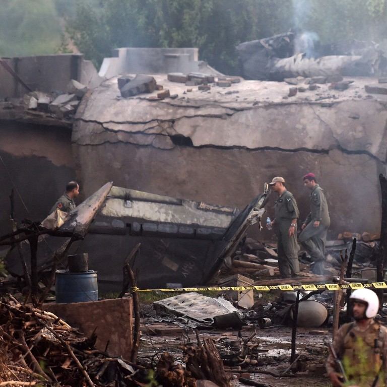 Five Soldiers Among 19 Killed In Pakistani Military Plane Crash In Rawalpindi South China Morning Post