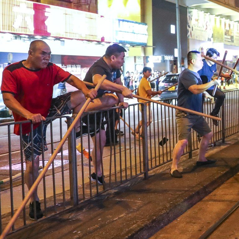 Dangerous resource for hire? Hong Kong's triads have a long