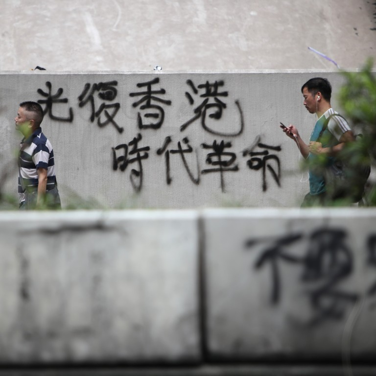 Hong Kong protesters are not demanding independence from China but