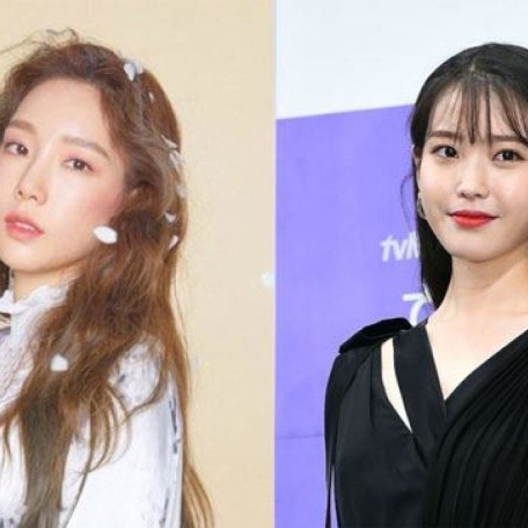 K-pop stars Taeyeon and IU help the needy and win fans