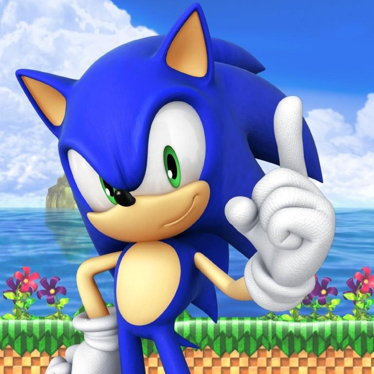 Sonic The Hedgehog Sprite Sega Video Game Inspired