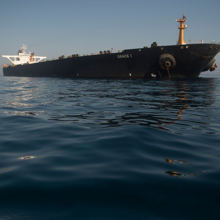 US issues warrant to seize Iranian oil tanker Grace 1 stuck