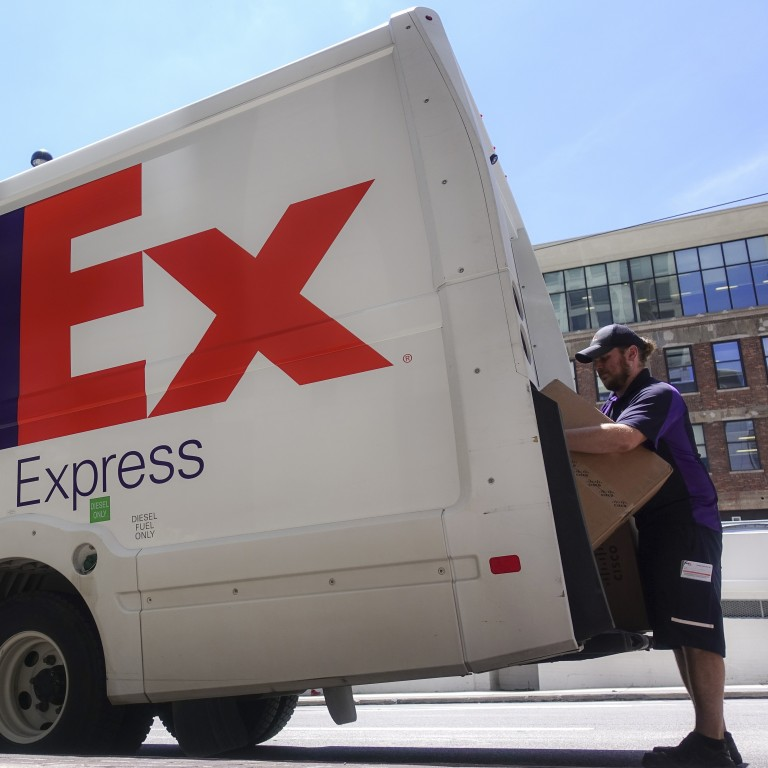 FedEx again under investigation by China for shipping