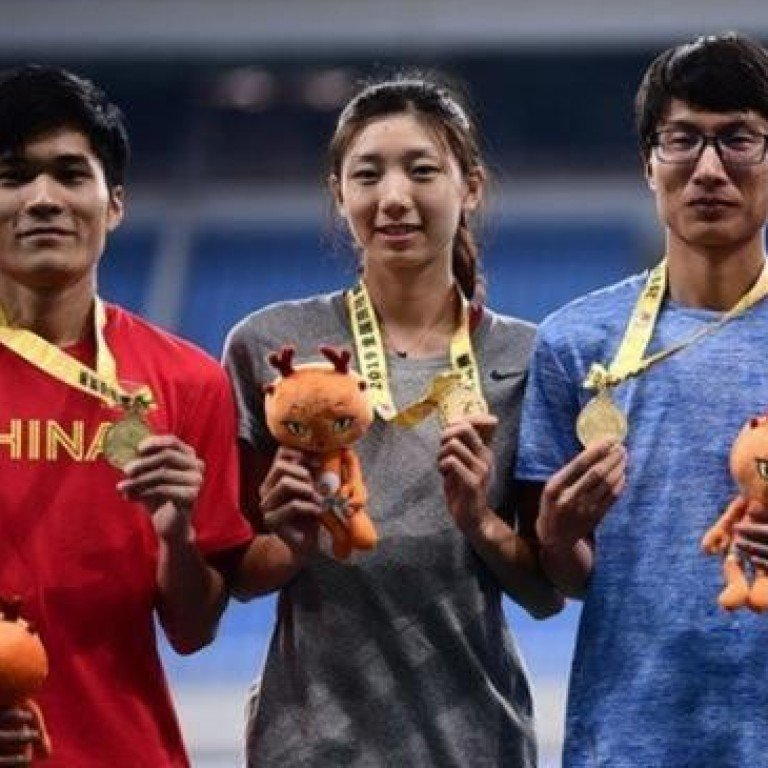 400m runners go viral on Chinese