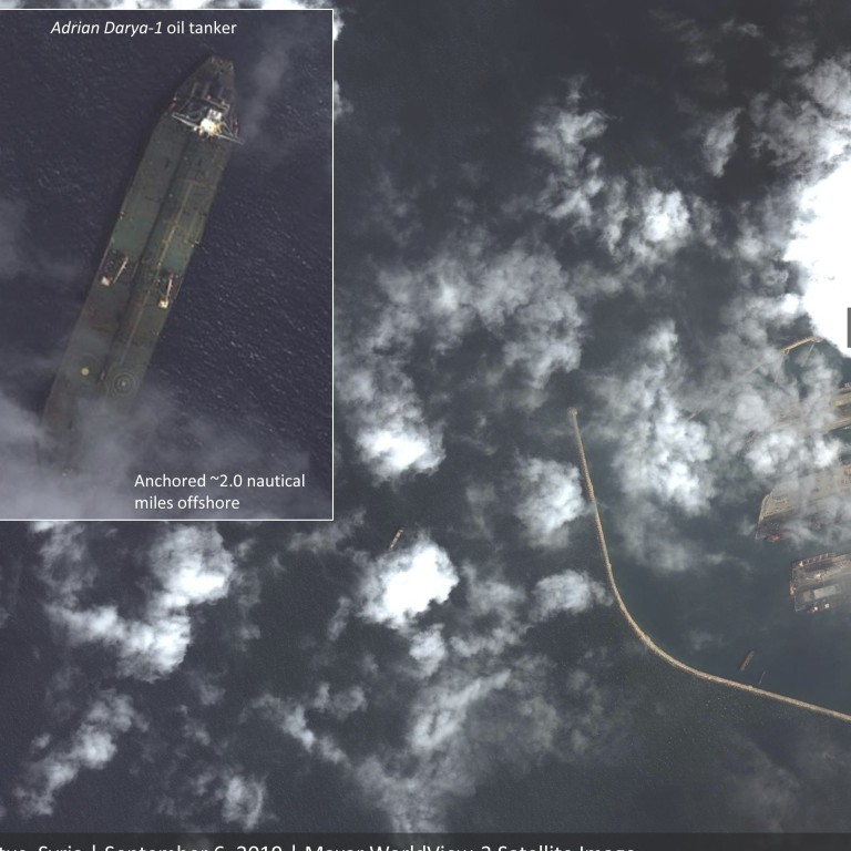 Iranian oil tanker sought by US spotted off the coast of