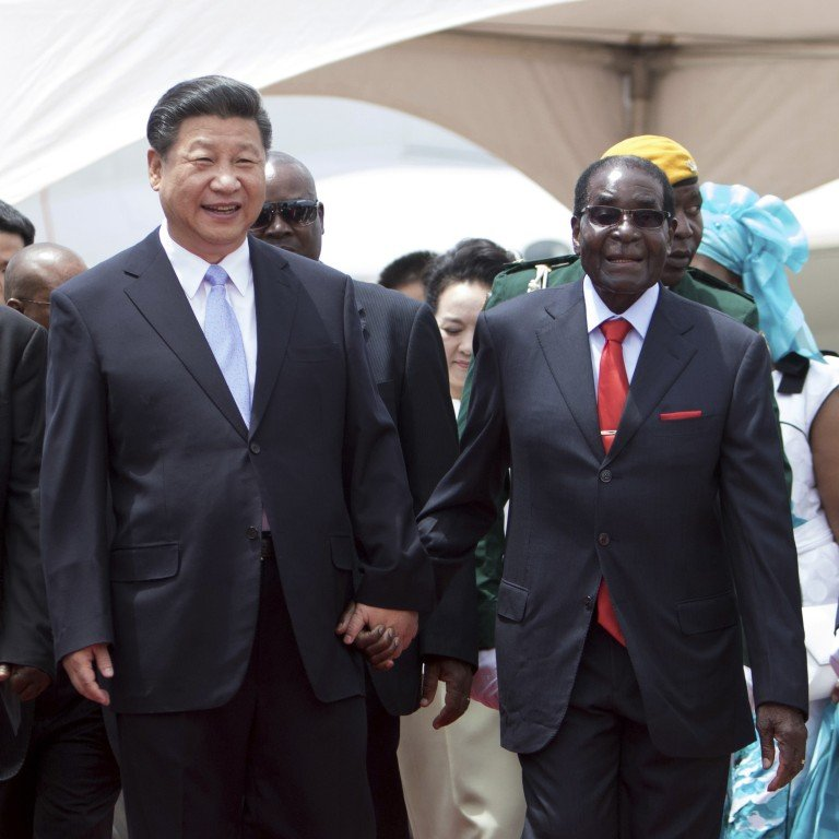 China mourns Zimbabwe's Robert Mugabe after years of unwavering ...
