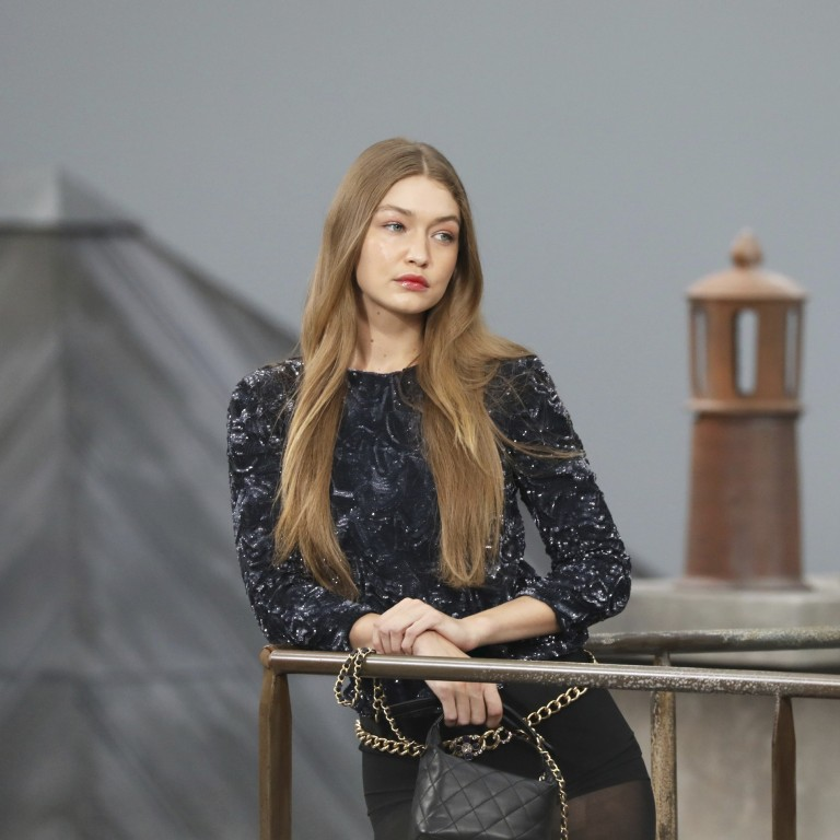 Paris Fashion Week Why Did Gigi Hadid Accost A French Youtube Star On The Runway At Chanel S Show In Front Of Sting And Cardi B South China Morning Post